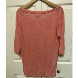 American Eagle Outfitters Women Pink Top